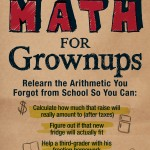 Get the Anxiety Out of Math - Math for Grownups Book giveaway